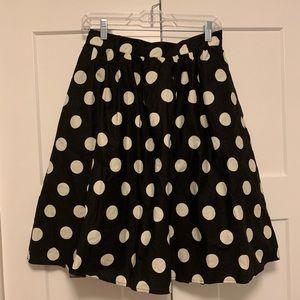 NWOT Polka Dot ModCloth Skirt